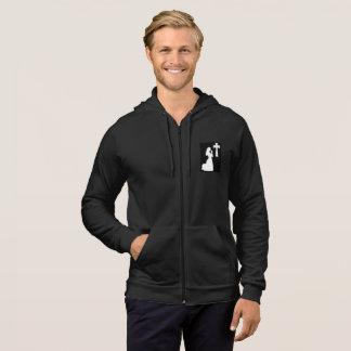 TFD Black Zipper Hoodie