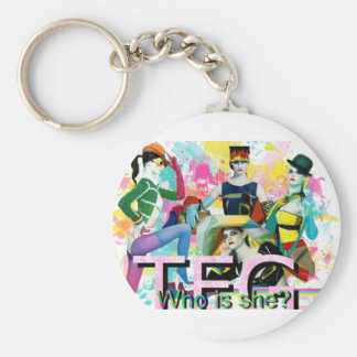 TFG: Who is She? Key Chain