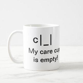 TGF Care Cup Basic White Mug