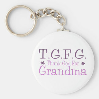 TGFG BASIC ROUND BUTTON KEY RING