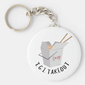 TGI Takeout Keychains