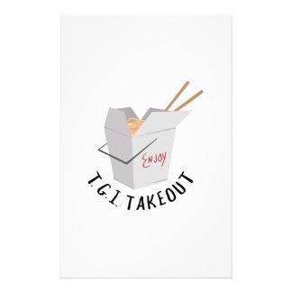 TGI Takeout Stationery