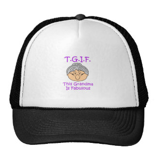 TGIF TRUCKER HAT
