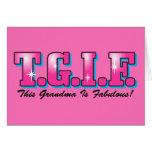 TGIF Fabulous Grandma