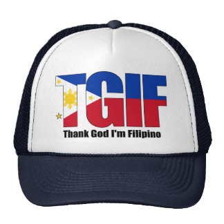 TGIF Filipino with Philippine Flag Cap