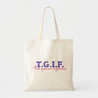 TGIF-Gramma Tote Bag