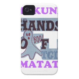 TGIF Hakuna Matata Hands Off Boo Funny Face Case-Mate iPhone 4 Cases