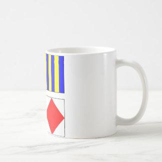 TGIF - Nautical Flags Mug
