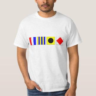 TGIF - Nautical Flags T-Shirt