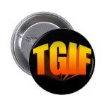 TGIF Yellow Rainbow Buttons