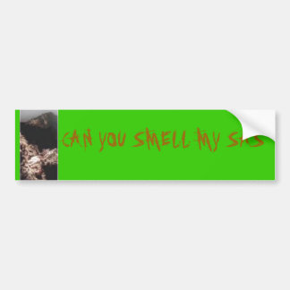 th_bigfoot, CAN YOU SMELL MY SAS Bumper Sticker