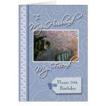 __th Birthday - My Husband, Friend Greeting Card