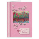 __th Birthday - My Mother, Friend Greeting Card