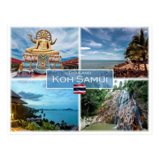 TH Thailand - Kok Samui - Postcard