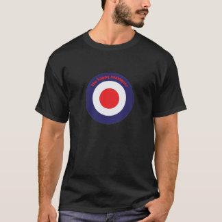THA Bullseye Men's Black T-shirt