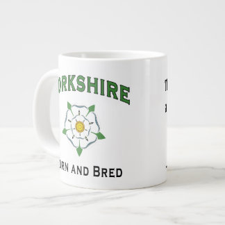 Tha can allus tell a Yorkshireman Giant Coffee Mug