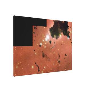 Thackeray's Globules- Dense, Opaque Dust Clouds Canvas Print