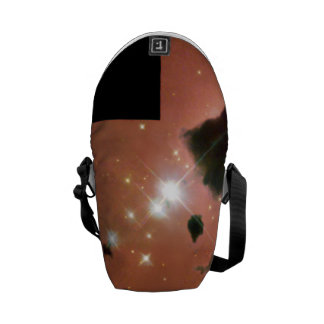 Thackeray's Globules- Dense, Opaque Dust Clouds Messenger Bag