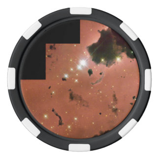 Thackeray's Globules- Dense, Opaque Dust Clouds Poker Chips Set