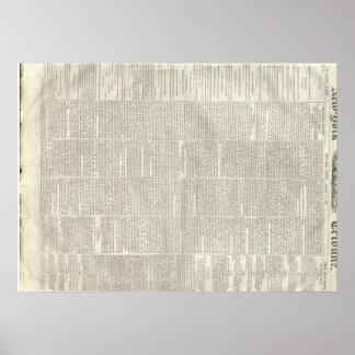 Thaddeus Stevens dies, New York Tribune 8/14/1868 Poster