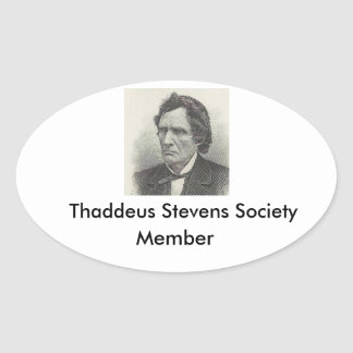 Thaddeus Stevens Society member sticker