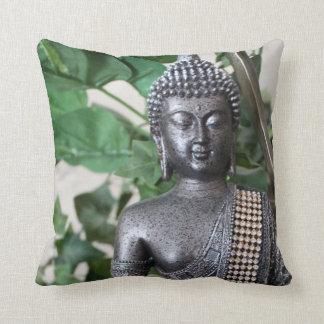 Thai Buddha Large Pillow-20x20 in. Throw Pillow