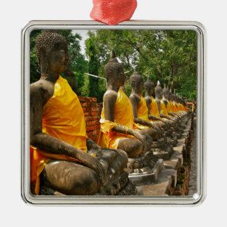Thai Buddhas Christmas Ornament