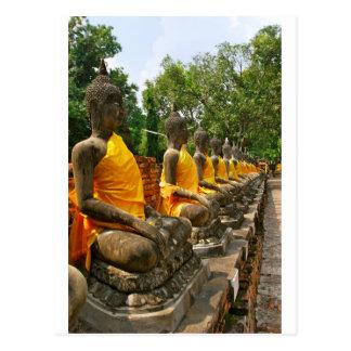 Thai Buddhas Postcard