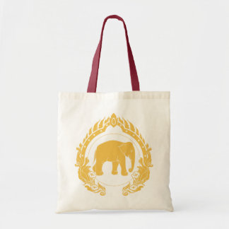 Thai Elephant Tote Bag