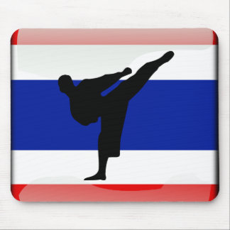 Thai flag mouse mat