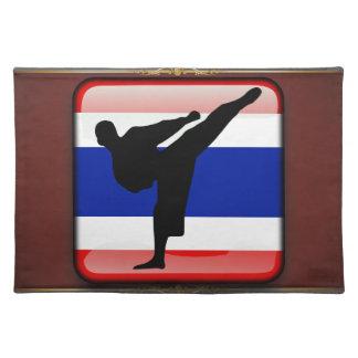 Thai flag placemat
