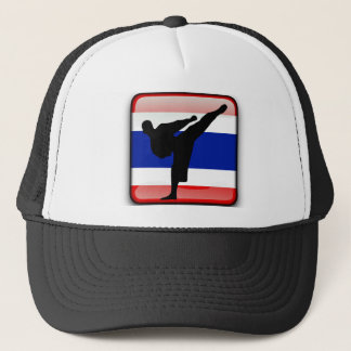 Thai flag trucker hat