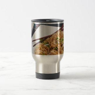 Thai Food Lo Mein Noodles Dish Coffee Mug