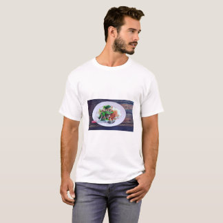 Thai food Stewed pork leg on rice T-Shirt