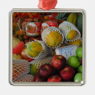 Thai Fruit Christmas Ornament