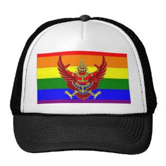 Thai GLBT Pride Flag Cap