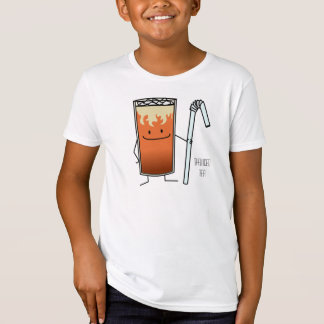 Thai Iced Tea & Bendy Straw - Happy Drink Thailand Tees
