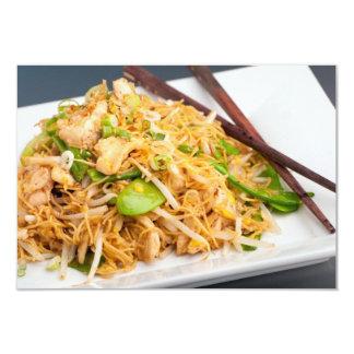 Thai Lo Mein Noodle Stir Fry Custom Invites