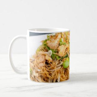 Thai Lo Mein Noodle Stir Fry Coffee Mugs