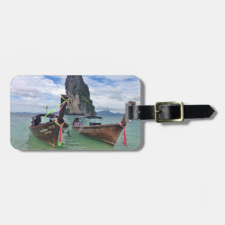 Thai Longboat Luggage Tag