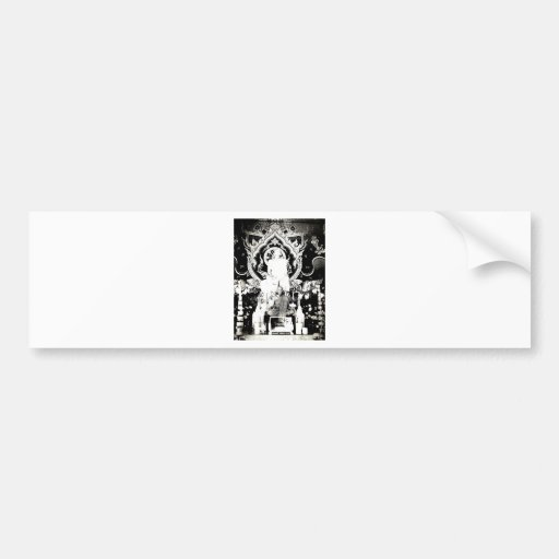 Thai Monk, Luang Pu Dul Bumper Sticker
