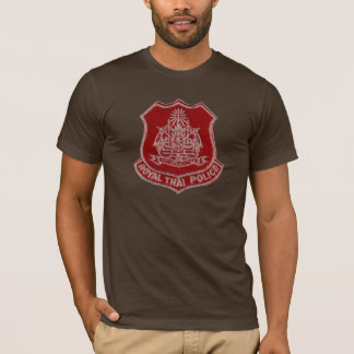 Thai Police Badge T-Shirt