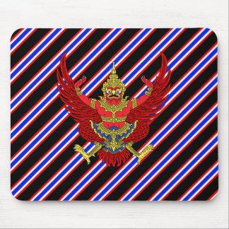 Thai stripes flag mouse mat