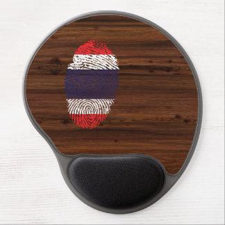 Thai touch fingerprint flag gel mouse mat