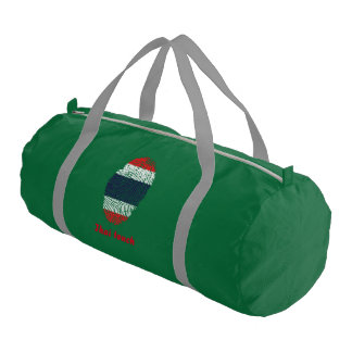 Thai touch fingerprint flag gym bag