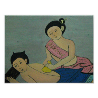 Thai Traditional Massage Poster