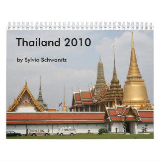 Thailand 2010 wall calendars