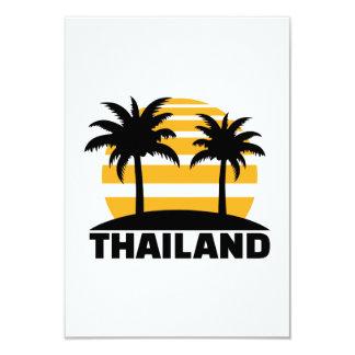 Thailand 9 Cm X 13 Cm Invitation Card