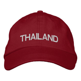 Thailand* Adjustable Hat Embroidered Hats