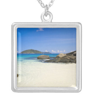 Thailand, Andaman Sea. Ko Miang Island Similan Silver Plated Necklace